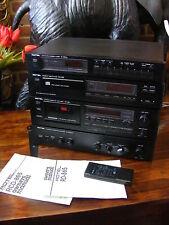 Vintage Rotel Hi-Fi Quality Separates System RT-850AL RCD-865 RD-865 RA-840BX4