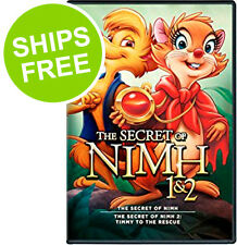 The Secret of Nimh 1 & 2 Double Feature (DVD, 2011) NEW, Sealed, Collector Cover