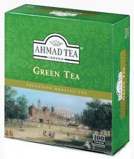 Ahmad TEA-Green Tea - 100 bustina del tè Tè Verde