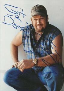 """Larry the Cable Guy 5x7 Signed Autograph Reprint """"Mint"""" {FREE SHIPPING}"""