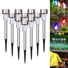Stainless Steel Led Solar Outdoor light Waterproof Garden Landscape Lawn Lamp