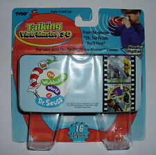 DR. SEUSS 'OH, THE PEOPLE YOU'LL MEET' TALKING VIEW-MASTER 3-D CARTRIDGE *NEW*