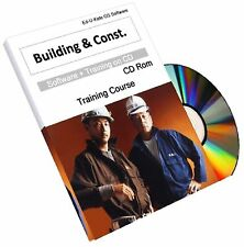 Building Construction Book on CD - Home House Design Training Course Manuals