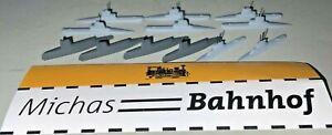 12 X u Boat IN Set 4x Laboe 6x Kl201 2x Kl205 1:1250 =3 7 Å