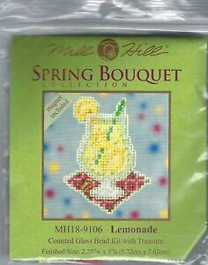 Lemonade Mill Hill Cross Stitch Kit