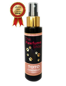 Toto Chienelle,Designer Dog Fragrance.Scented Like Real Perfume.The Pawfume Shop