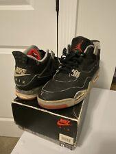 1989 Nike Air Jordan 4 IV Bred Original Vintage OG Rare 11 1988 Black Cement