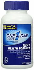 One-A-Day Multivitamin Men's Health Formula 200 Tablet Bottle Each