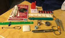 Assortment Of Vintage Sewing Basket Items