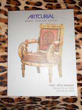 CATALOGUE ARTCURIAL - TABLEAUX, ART NOUVEAU, ART DECO, BIJOUX, ARMES - 2003