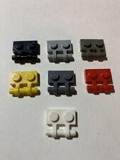 LEGO Parts 2540 (6pcs Plate, Modified 1 x 2 w Handle on Side Choose Color