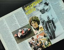 vintage STEVE BAKER MOTORCYCLE Racing Article/Photo's/Picture's