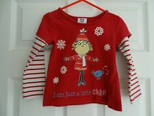Girl's Charlie and Lola Long Sleeve T-Shirt from M&Co Age 18-24 Months