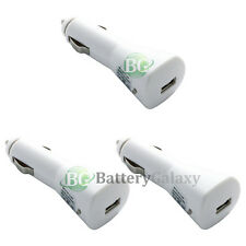 3 NEW USB Car Charger for Apple iPhone SE 3 3G 3GS 4 4S 5 5C 5S 6 6S 7 7S Plus
