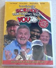 LEON SCHUSTER Schuks Your Country Needs You SOUTH AFRICA DOES NOT PLAY IN USA
