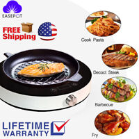 Portable 1800W Induction Cooktop Burner Electric Induction Cooker with Timer