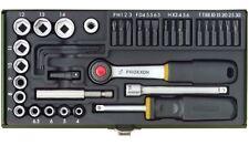 """23070 Proxxon Schraubersatz mit Agnethalter 1/4"""" 39tlg."""