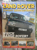 Land Rover Owner Int 9/2003 Series 1 2 3 Defender Range Discovery Freelander