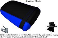 BLACK & LIGHT BLUE CUSTOM FITS KAWASAKI ZX9R NINJA 900 02-04 REAR SEAT COVER