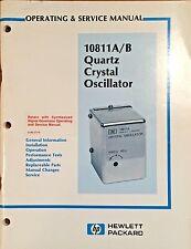 Agilent HP 10811A/B Oscillator Operating & Service Manual P/N 10811-90002