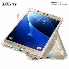 "For Samsung Galaxy J7 Poetic Affinity ""Dual material"" Shockproof Cover Clear"