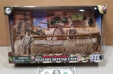 World Peacekeepers Military Defense Unit Army Playset 1:18 NIB