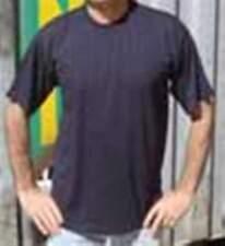 Plain Navy T-Shirt - Qty 8 - size XL - 100% cotton - great work tees - bulk buy