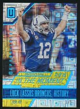 ANDREW LUCK ITM-3 2016 Panini Unparalleled IN THE MOMENT GOLD 1/5 COLTS