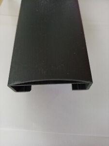 1A Handlauf 90x40 mm 112 cm foliert Anthrazitgrau für Geländer Balkon, Treppe