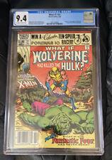 What If? #31 CGC 9.4 Wolverine had killed the Hulk