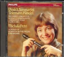 VIVALDI / SAMMARTINI / TELEMANN / HANDEL - Recorder Concertos - Michala PETRI