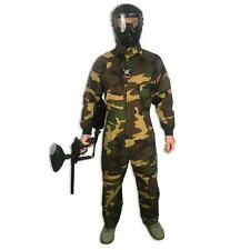 Maddog Tactical Paintball Rip Stop Coverall Jumpsuit Woodland Camo Large