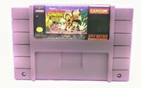 SNES Disney's Goof Troop Authentic Tested Working Cleaned