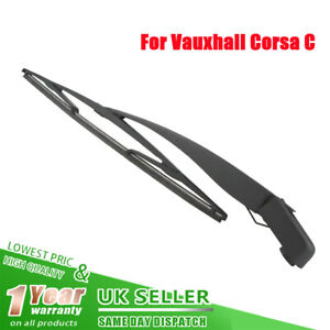 Windscreen Rear Wiper Arm &Blade For Vauxhall Corsa C MKII 2 00-06 Hatchback NEW