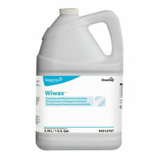 Diversey Wiwax Cleaning And Maintaining Emulsion 1 Gallon Bottle Case Of 4new