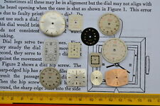 Watch Dials Faces Steampunk Altered Art Crafts Cyber Punk Jewellery Making Arts