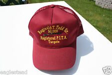 Ball Cap Hat - Reginald T Todd Sr. 50K PITA Trapshooting Targets Rifle (H978)