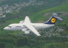 Lufthansa Airline Postcard CITYLINER AVRO RJ85