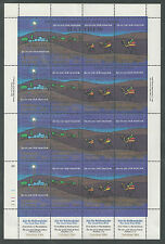 Marshall Islands # 58e Mnh First Christmas, The Three Wise Men. Sheetlet