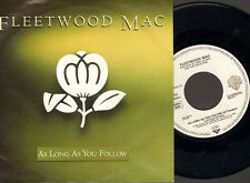 "NMINT  7"" SINGLE Fleetwood Mac OH WELL LIVE 1988  As Long as You Follow"