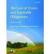 The Law of Trusts and Equitable Obligations - Fifth Edition - Text Book