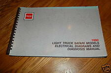 1990 GMC Safari Light Duty Truck Electrical Service Manual LIKE NEW FREE shiping