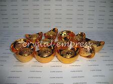 FENG SHUI - 18PCS SMALL GOLD INGOTS (MONEY BAR)