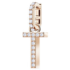 Swarovski 5437615 Remix Charm Rose Gold Plated - Letter T RRP$39