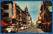 Chinatown, San Francisco, California, 1955, Cars, Signs
