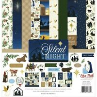 "Echo Park 12"" X 12"" Paper Collection Kit Silent Night NEW"