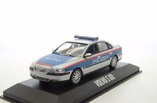 Rare !! Volvo S80 Austria Polizei Police Car Custom Made 1/43