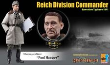 "Dragon 1/6 Scale 12"" WWII German Reich Division Commander Paul Hausser 70815"
