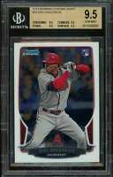 Didi Gregorius Rookie 2013 Bowman Chrome Draft #19 BGS 9.5 (9.5 9.5 9.5 9.5)