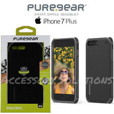PureGear Apple iPhone 7 Plus Dualtek Extreme Impact Shock Case Cover Black